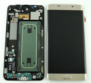 Màn Hình LCD Galaxy S6 Edge Pluss Màu Gold