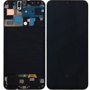 Màn Hình Zin Galaxy A50S SM-A507 Có Khung