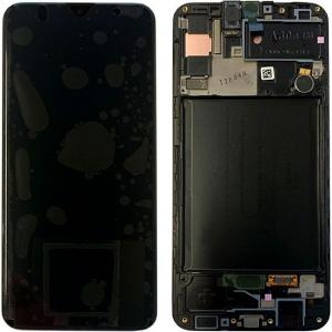 Màn Hình Zin Galaxy A30S SM-A307 Có Khung