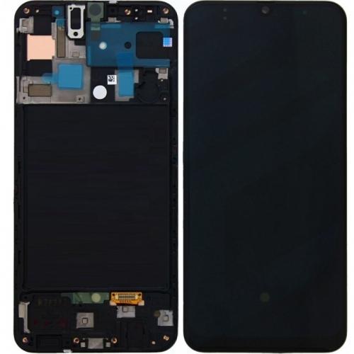 Màn Hình Zin Galaxy A30 SM-A305 Có Khung